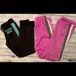 Justice Girls Athletic Pants Joggers 14